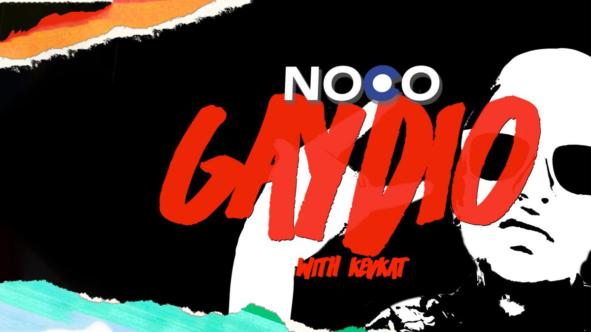"New LGBTQIA+ music show ""NoCo Gaydio"" premieres November 9th!"