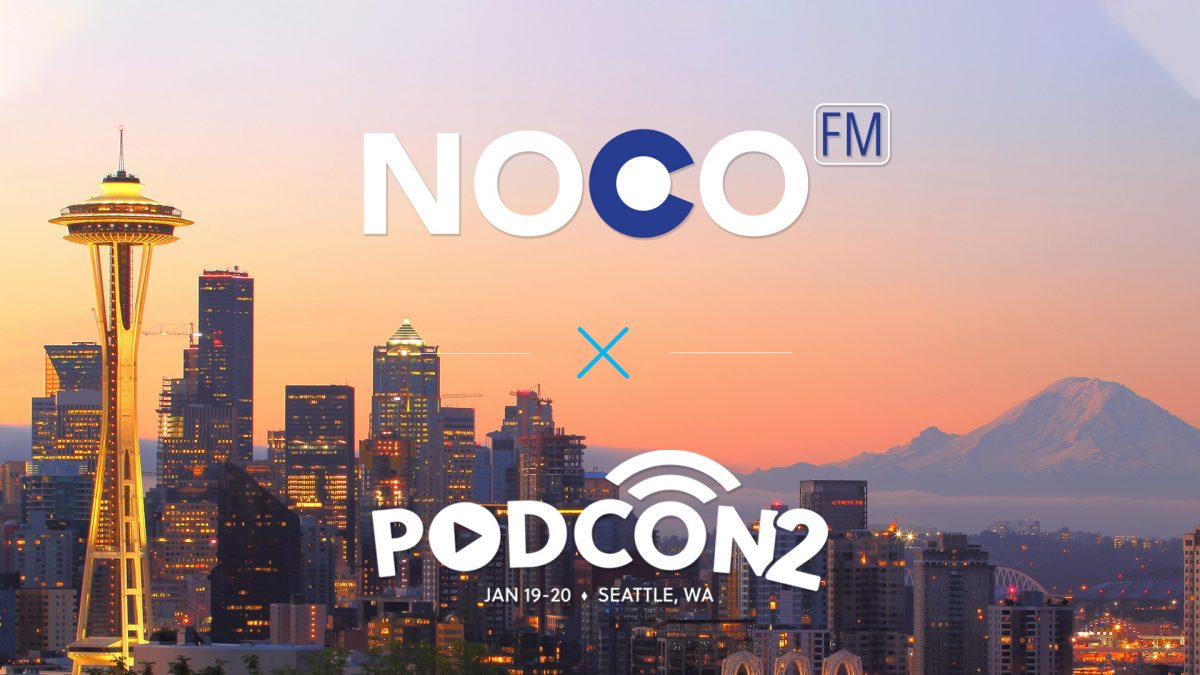 NoCo FM is coming to PodCon on January 19-20!